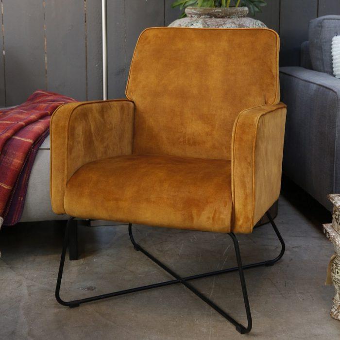 Een trendy fauteuil Bastogne