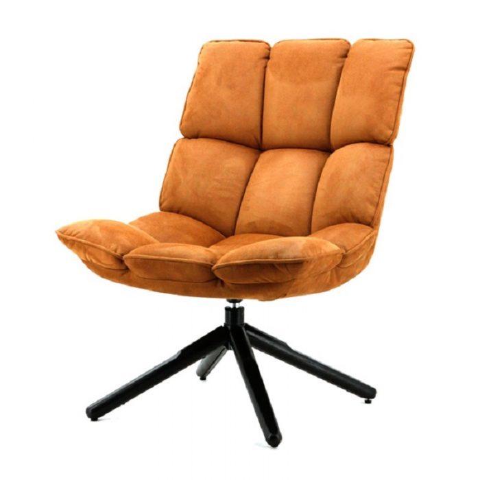Daan is een stoere draaibare fauteuil