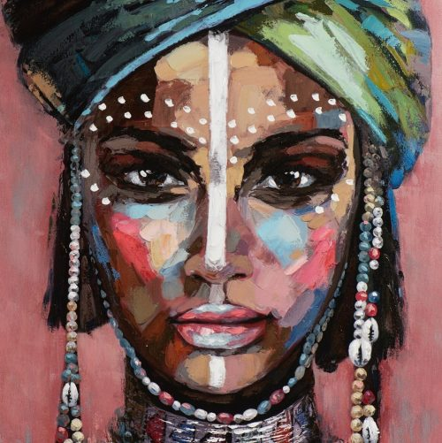Mooie Afrikaanse vrouw