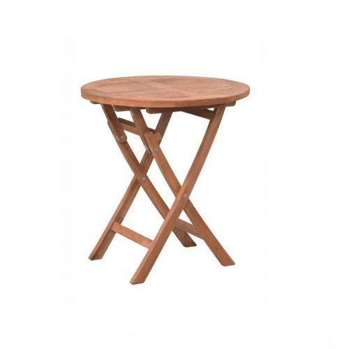 Vouwbare tafel rond