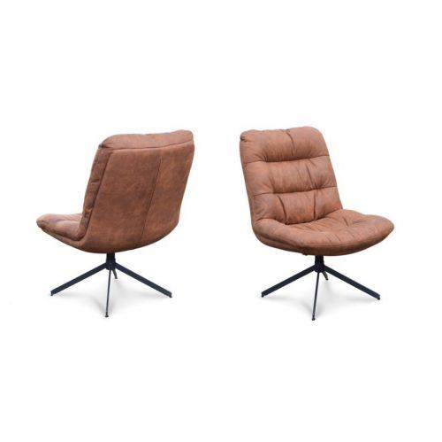 Comfortabele loungestoel met hoge rug
